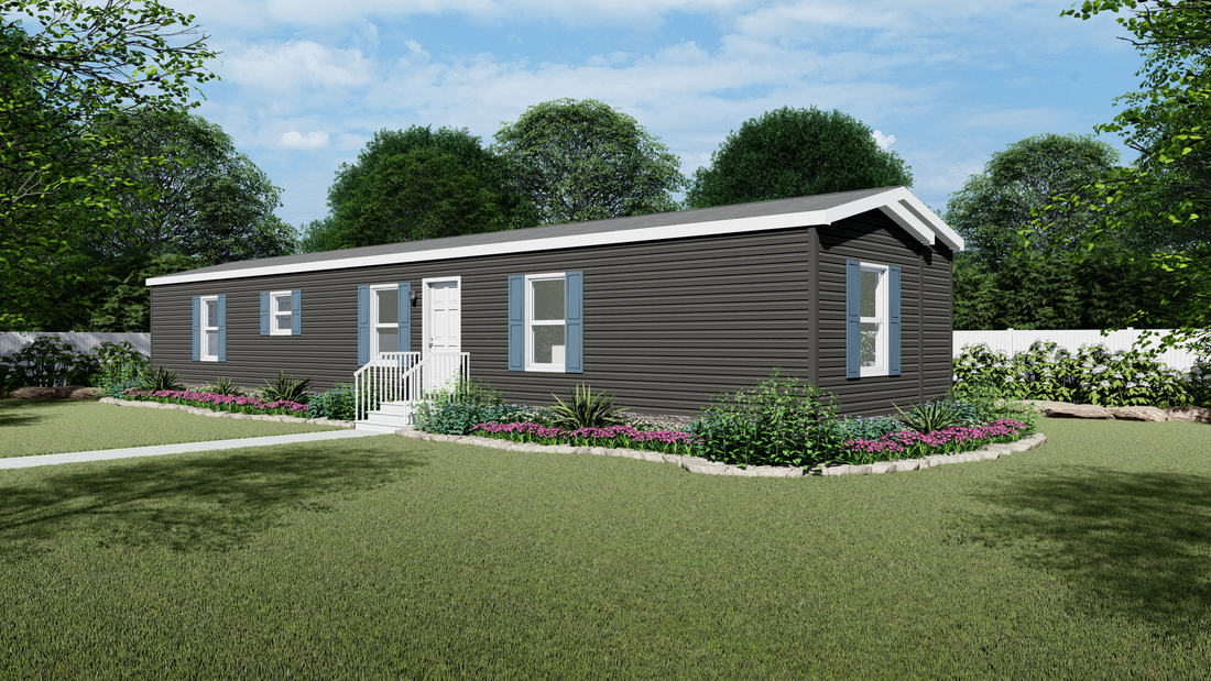 The TIPPECANOE 7016-8807 Exterior. This Manufactured Mobile Home features 3 bedrooms and 2 baths.