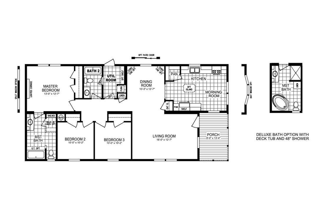 The ESPY 5628-2575A Floor Plan