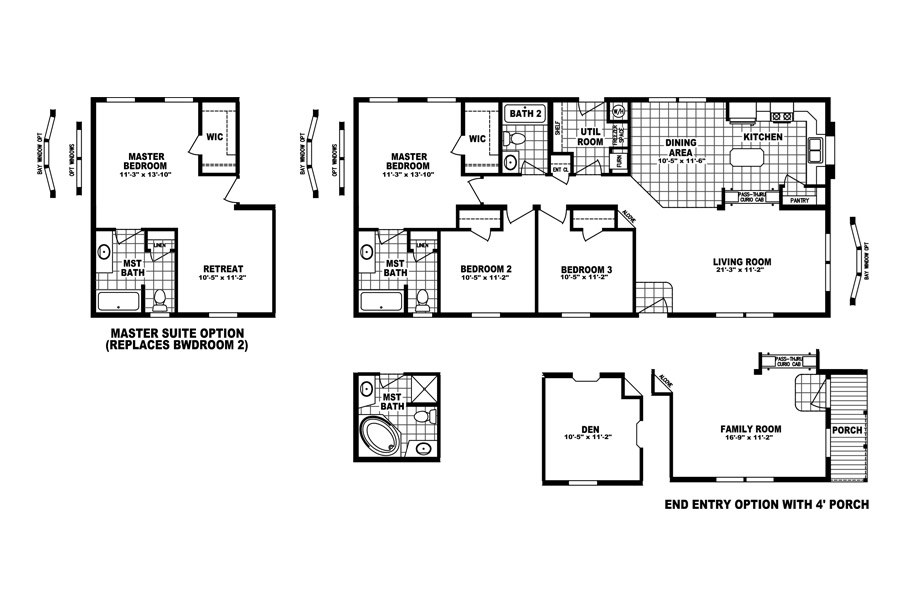 The GLENSCHEEN 5224-16 Floor Plan