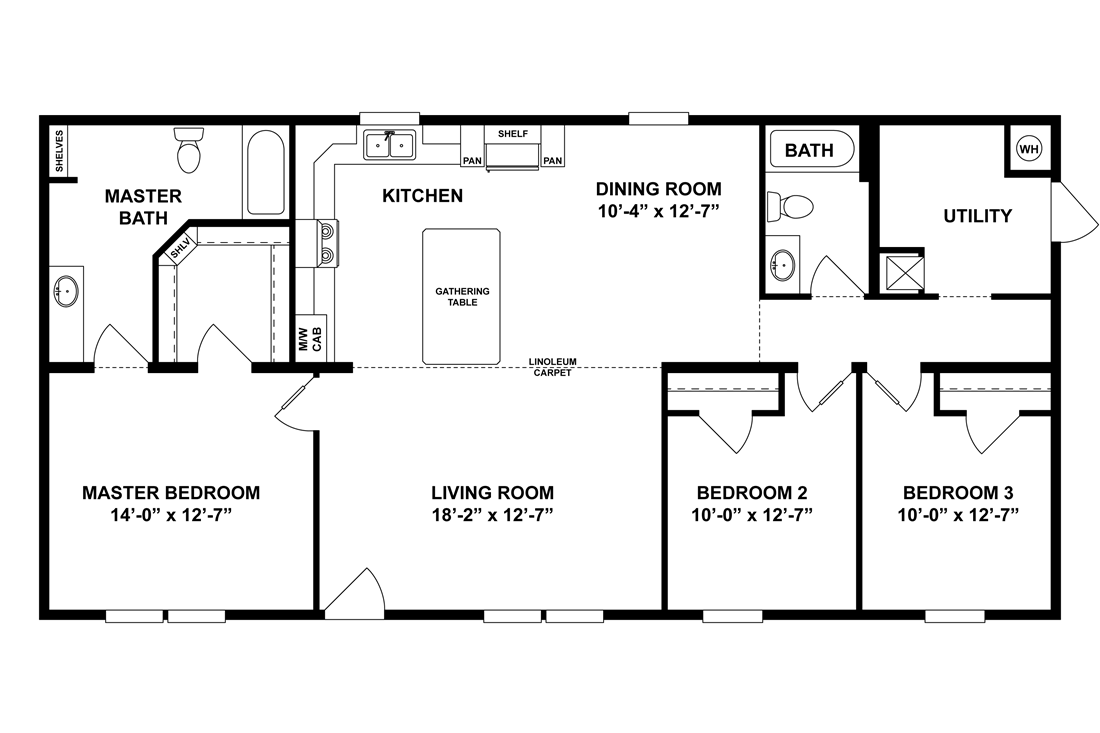 The CAMERON 5428-83 Floor Plan
