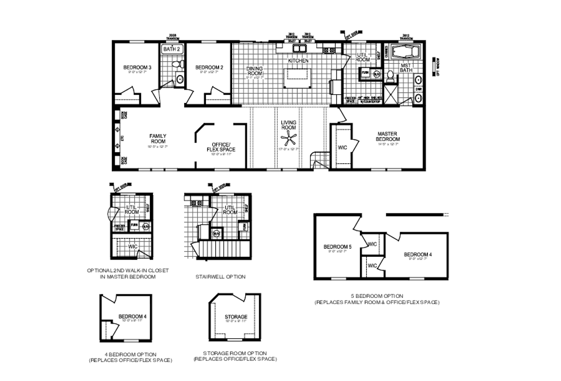 The VISION 64 Floor Plan